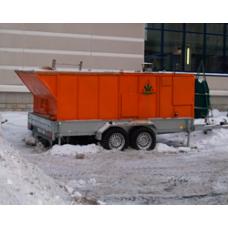 Снегоплавильная установка Горыныч