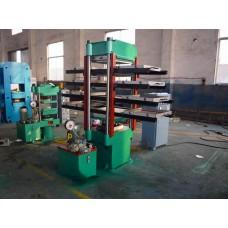 Пресс для производства резиновой брусчатки XLB-D550