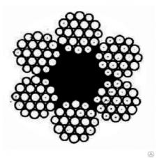 Канат стальной ГОСТ 2688-80 д= 3,8 мм Magnus-Profi, м
