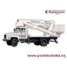 Подъемник автомобильный рычажно-телескопический ПАРТ-19 ГАЗ-3307