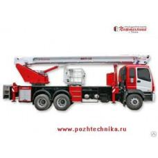Автоподъемник коленчатый пожарный АКП-32 ISUZU