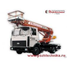 Автоподъемник телескопический лестничный АПТЛ-18 МАЗ-437041