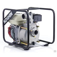 Бензиновая мотопомпа для средне-загрязненной воды STH-50X
