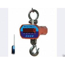 Динамометр электронный с крюком на 1-30 тонн