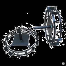 Колеса универсальные КУМ 540 с длинной втулкой