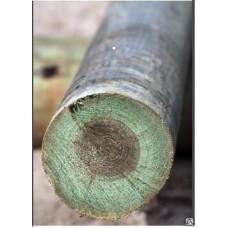 Опоры ЛЭП деревянные пропитанные