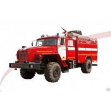 Автоцистерна пожарная АЦ 4,0-40 Урал-43206