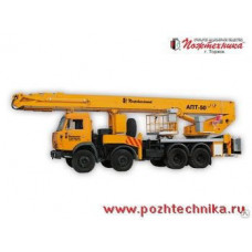 Автоподъемник АПТ-50 КамАЗ-6540
