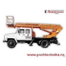 Автоподъемник телескопический лестничный АПТЛ-17 ГАЗ-3307
