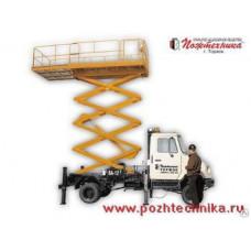 Вышка автомобильная ВА-12 ЗИЛ-5301