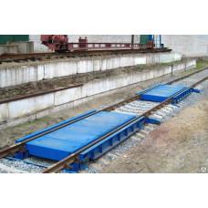 Весы железнодорожные вагонные