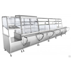 Кассовая кабина Abat КК-70Т 1120 мм универсальная