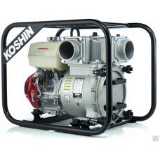 Бензиновая мотопомпа для сильно-загрязненной воды KTH-100S