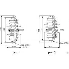 Изолятор керамический ПСФ 100-3,0/0,6-05 УХЛ1