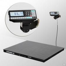 Весы платформенные 4D-PM-1-1000-RP с печатью этикеток