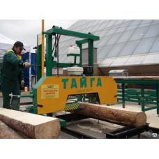 Ленточная пилорама «Тайга Т-2Б (двигатели Honda, Lifan)