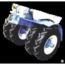 Комплект дополнительных транспортных колес 4.00-8