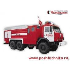 Аэродромный пожарный автомобиль АА-5/40 КамАЗ-43114