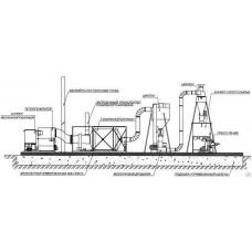 Линия по производству топливных брикетов Pini-Kay БЛ 800