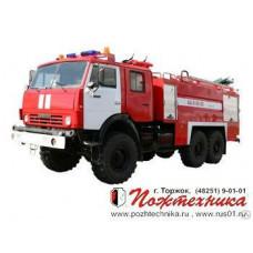 Пожарный аэродромный автомобиль АА-8,0/60-50/3 КамАЗ-43118