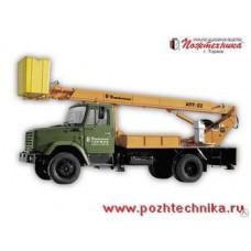 Автоподъемник АПТ-22 ЗИЛ-433112