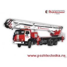 Автоподъемник коленчатый пожарный АКП-30 КамАЗ-53215