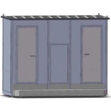 Туалетный модуль «Городской стандарт 212», сетевой