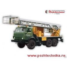 Вышка телескопическая ВТ-26 КамАЗ-43114
