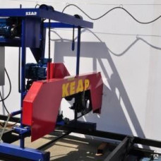 Пилорама ленточная электрическая Кедр-3М с усиленным рельсовым путем
