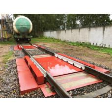 Весы ВС-В-100 для взвешивания вагонов в статике