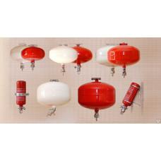 Модуль пожаротушения порошкового
