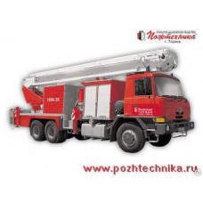 Автоподъемник коленчатый пожарный ПППК-35 Tatra-815