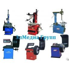 Шиномонтажное оборудование, станок, балансировочный Италия, Россия, Китай.