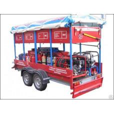 Комплекс учебный передвижной пожарно-спасательный Огнеборец 1020Д-У