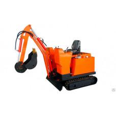 Самоходный экскаватор МЭС 1350 кг