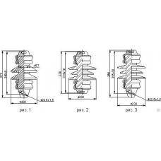 Изолятор керамический ПСФ 70-3,0/0,5-01 УХЛ1