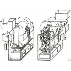 Машина для очистки семян МОС-2 стационарная