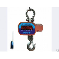 Динамометр электронный с крюком на 1 тн
