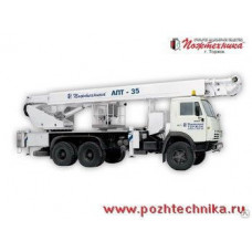 Автоподъемник АПТ-35 КамАЗ-53215