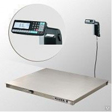 Весы платформенные 4D-P.S-3-1000-RL с печатью этикеток