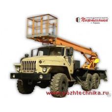 Автоподъемник АПТ-22 Урал-4320