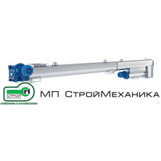 Винтовой лотковый конвейер с микродозатором Армата ЛМД (нерж.сталь)