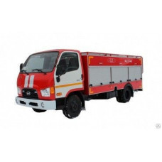 Автоцистерна пожарная АЦ 2,0-40 на шасси Hyundai HD-65