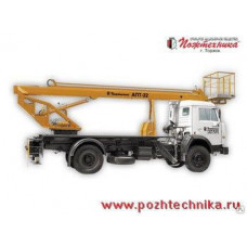 Автоподъемник АПТ-22 КамАЗ-43253
