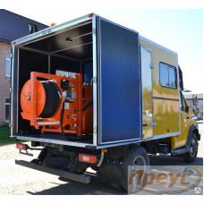 Каналопромывочная машина Преус Д67-КРД