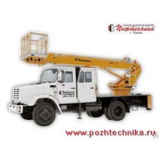Автоподъемник АПТ-17 ЗИЛ-433362