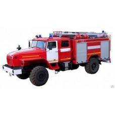 Автомобиль пожарно-спасательный АПС 3,0-40/100-4/400 Урал-43206