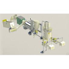 Линия оборудования для древесных брикетов (Pini-Kay) мод. БЛ 1000
