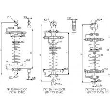 Изолятор линейный стержневой ЛК 120/110-И-2 ГП(ГС)