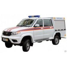 Автомобиль первой помощи АПП 0,2-0,5 УАЗ-23632 Pickup